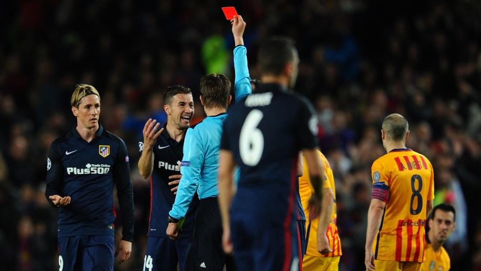 """FC Barcelona v Club Atletico de Madrid  - UEFA Champions League Quarter Final: First Leg"""