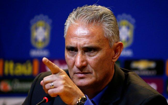 Football Soccer - News conference - Brazilian Football Confederation (CBF) headquarters