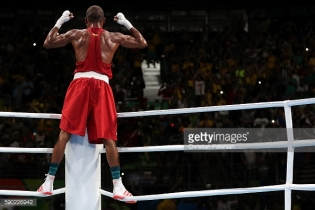on Day 11 of the Rio 2016 Olympic Games at Riocentro - Pavilion 6 on August 16, 2016 in Rio de Janeiro, Brazil.