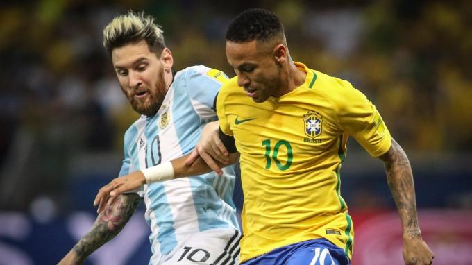 Image result for neymar brasil argentina