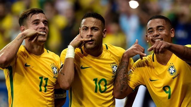 cb45d347ce Grande sacada de Tite na Seleção é o tridente CJN  Coutinho-Jesus-Neymar.  template base carrossel 620