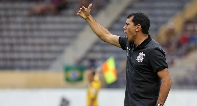 Carille sem problemas no Corinthians