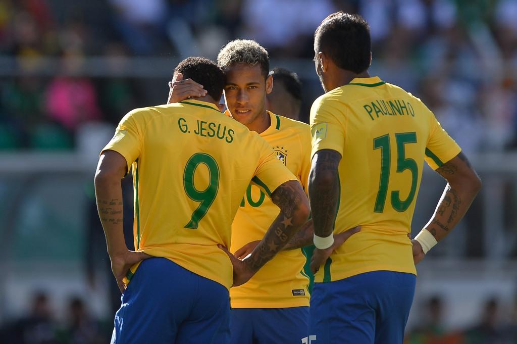Jesus, Neymar e Paulinho, juntos até a Copa 2018