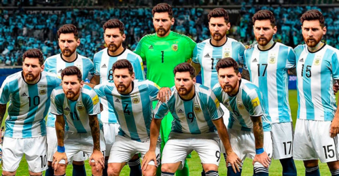 Messi é a Argentina