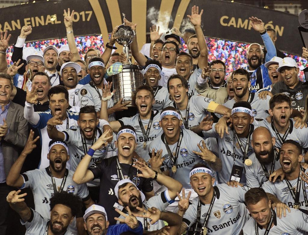 Grêmio é campeão da Libertadores 2017