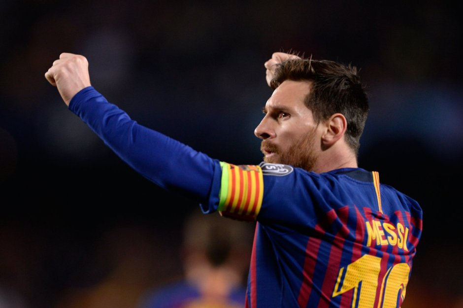 Messi coloca Liga dos Campeões debaixo do braço
