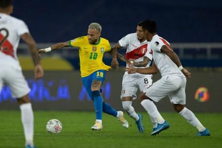 Brasil vence Peru