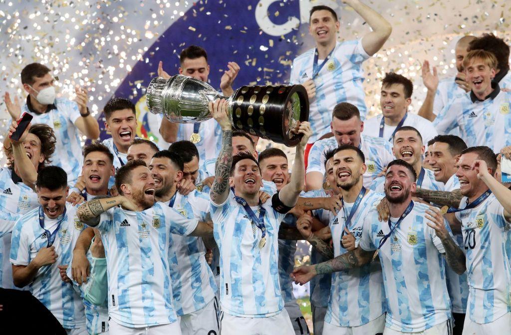 Argentina campeã Copa América 2021