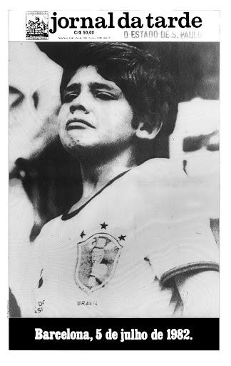 Capa do JT na derrota do Brasil